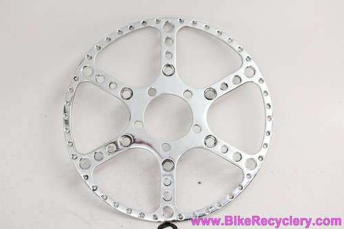 Custom TA Pro 5 Vis Drillium 50.2mm Outer Chainring Guard: 38t / 39t / 40t -  Highly Polished (MINT)