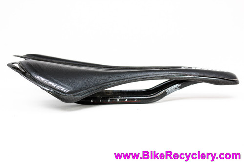 Specialized Toupe S-Works fact Carbon Rail Saddle: 143mm - Black - 113g (Near Mint)