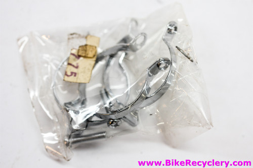 NIB/NOS Shimano Cable Clips: Top Tube - Set of 3 w/bolts - 1970's to Early 1980's