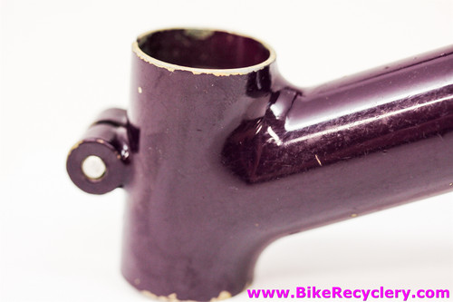 Tom Ritchey Fillet Brazed Steel Stoker Stem From Skyliner Tandem: 27.0m - 140mm x 25.4mm - Purple