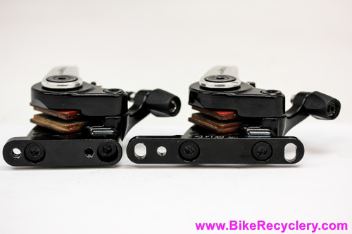 TRP Spyre Mechanical Disc Brake Calipers: Road - Flat Mount w/ FM1.1 Adapters - Pair (NEW Take-Off)