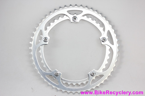Sugino Super/Aero Mighty Chainring Set: 52t & 42t x 144mm - Bolts (Near Mint+ Low Miles)