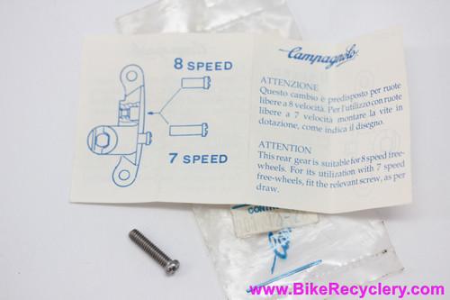 NOS Campagnolo Rear Derailleur B-Screw For Vertical Dropouts: Pre-2001 Models