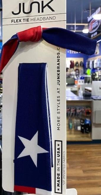 JUNK TEXAS FLAG FLEX TIE (FT-TX)