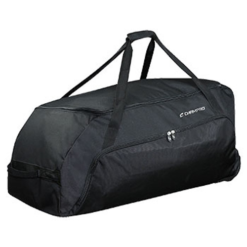 CHAMPRO WHEELED EQUIPMENT BAG - BLACK