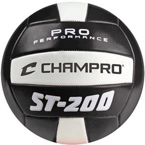 CHAMPRO ST200 PRO PERFORMANCE VOLLEYBALL - BLACK