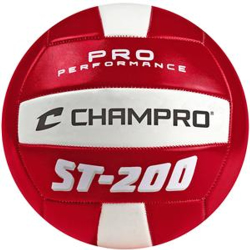 CHAMPRO ST200 PRO PERFORMANCE VOLLEYBALL - RED