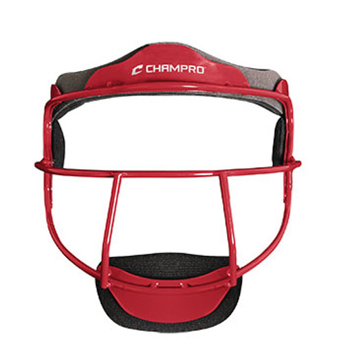 CHAMPRO YOUTH FIELDER'S MASK - RED