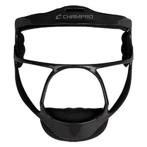 CHAMPRO RAMPAGE FIELDER'S MASK - BLACK