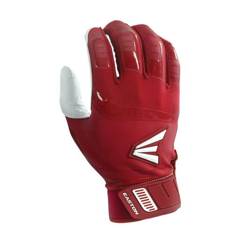 EASTON YOUTH WALK-OFF BATTING GLOVES - RED