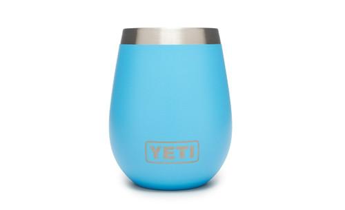 YETI 10 OZ WINE TUMBLER - REEF BLUE