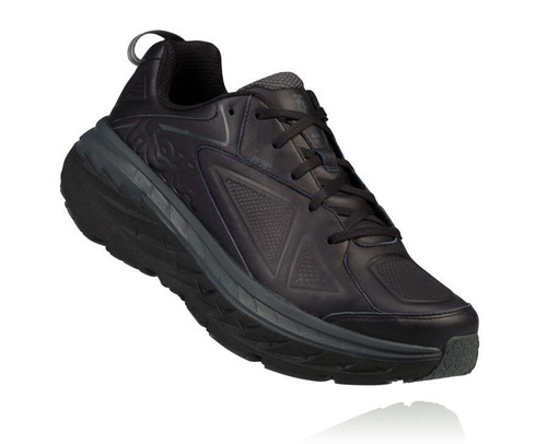 HOKA WOMEN'S BONDI LEATHER