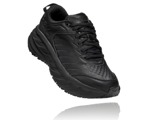HOKA MEN'S BONDI SR - BLACK