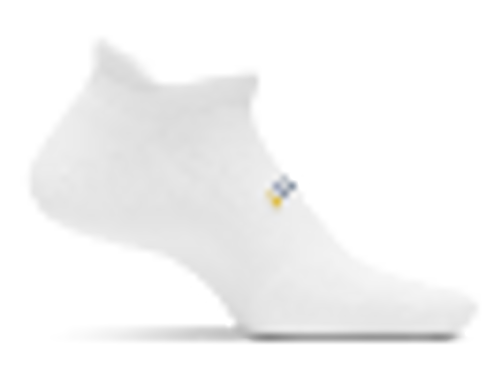 FEATURES HIGH PERFORMANCE NO SHOW TAB SOCKS WHITE