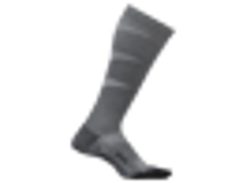 FEATURES GRADUATED COMPRESSION KNEE HIGH SOCKS GREY