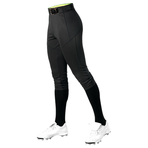 ALLESON WOMEN'S FITTED SOFTBALL PANT - BLACK