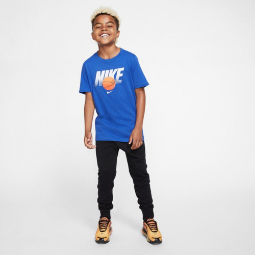 NIKE YOUTH BASKETBALL TEE - ROYAL