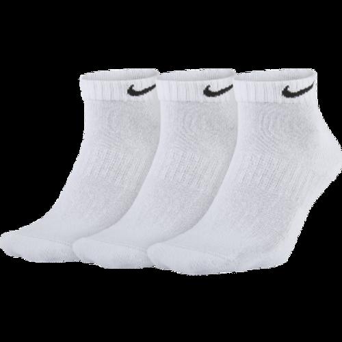 NIKE UNISEX EVERYDAY CUSHION LOW CUT 3-PACK SOCK - WHITE