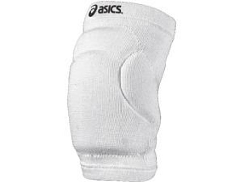 ASICS YOUTH VOLLEYBALL SLIDER KNEE PADS - WHITE