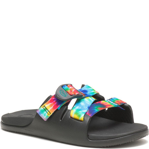 CHACO YOUTH CHILLOS SLIDE - TIE DYE