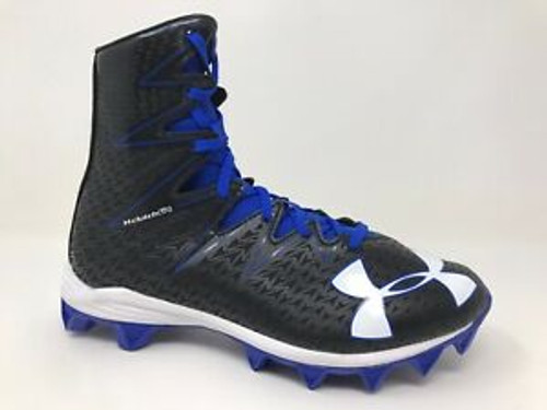 UA YOUTH HIGHLIGHT MID RM CLEAT - ROYAL