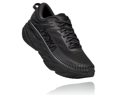 HOKA MEN'S BONDI 7 - BLACK