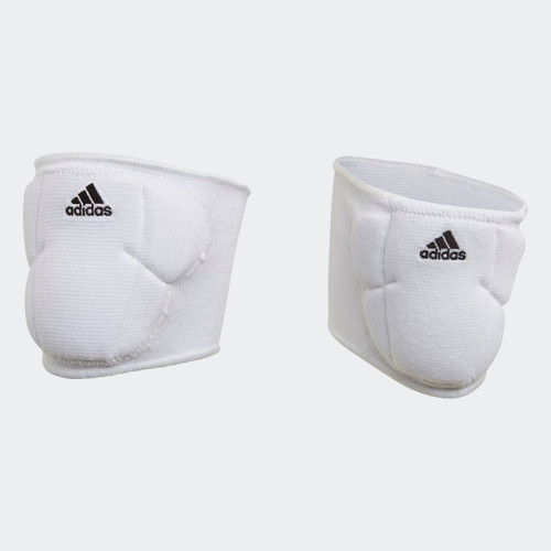 ADIDAS GIRL'S 5IN VOLLEYBALL KNEEPADS - WHITE