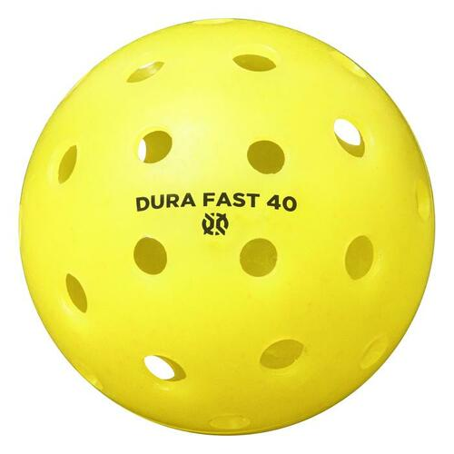 ONIX DURAFAST 40 OUTDOOR PICKLE BALLS - 4 PACK
