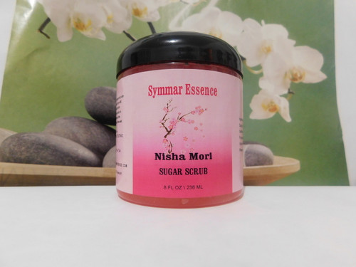 8 oz Sugar Scrub Scents: Nisha Mori
