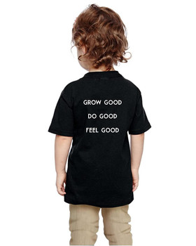 TEAMSYNERGY Black Classic Tee Toddler