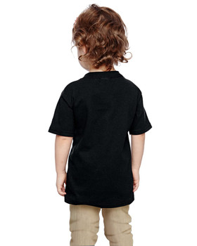 TEAMSYNERGY Black Classic Tee Toddler FRONT PRINT ONLY