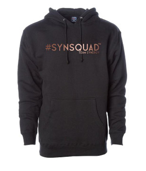 #SYNSQUAD Black Boyfriend Hoodie FRONT PRINT ONLY
