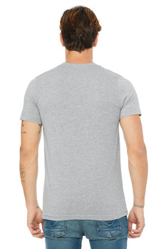 #MENOFSYN Grey Essential Tee Front Only