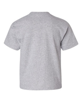 TEAMSYNERGY Grey Classic Tee Youth FRONT PRINT ONLY