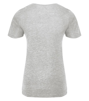 #SYNSQUAD Grey Stylish V-Neck FRONT PRINT ONLY
