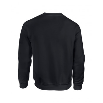TEAMSYNERGY Black Premium Cotton Sweatshirt FRONT PRINT ONLY