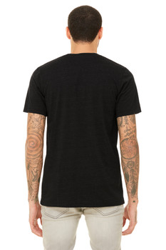 TEAMSYNERGY Black Essential Tee Front Only