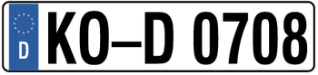 Germany Euro Plate