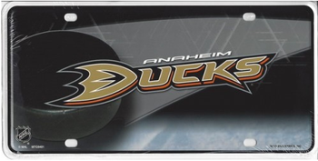Annaheim Ducks Metal License Plate