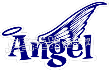 Angel Wing Decal Sticker