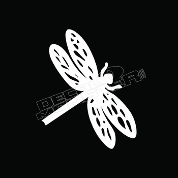 Dragonfly Tribal 52 Decal Sticker