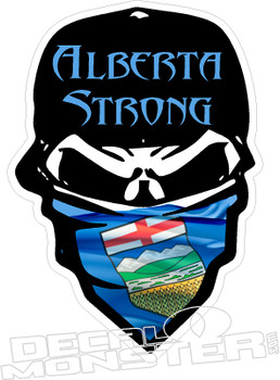Alberta Fort Mac Strong Outlaw2 McMurray 2016 Fire Decal Sticke