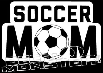 Soccer Mom Decal Sticker