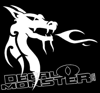 Dragon 1 Decal Sticker