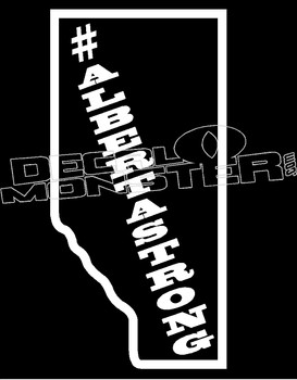 AlbertaStrong Province 4 Decal Sticker