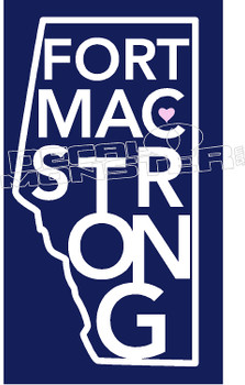 FortMacStrong Province 8 Decal Sticker