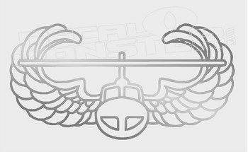 USA Air Force Wings Helicopter 1 Decal Sticker DM