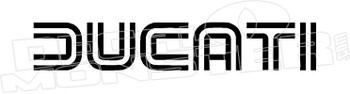 Ducati Motorcycle Decal Sticker