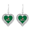 Wright State Raiders Earrings-  Lace Trim