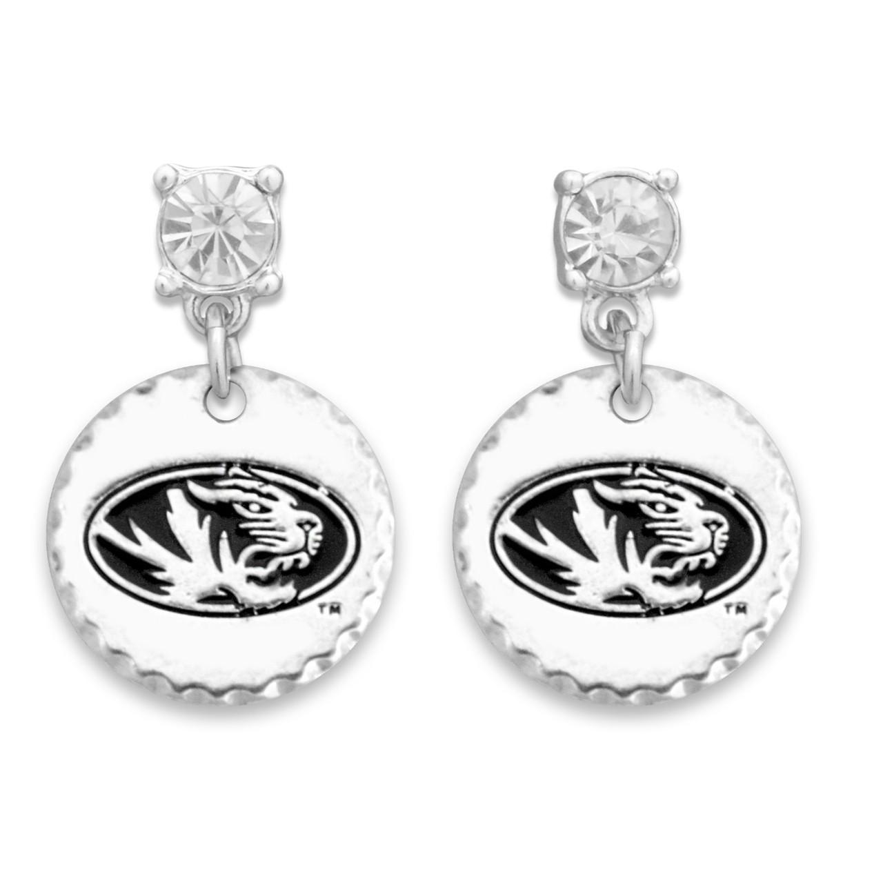 Missouri Tigers Head of the Class Earrings